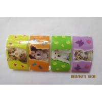 Buy cheap Eco Friendly Printed Shrink Wrap Sleeves , Thermal Shrink Wrap For Food from wholesalers