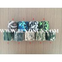Camoflag Printed Cohesive Bandage, best partner for outdoor sports games,5cmx4.5m Manufactures