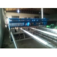 Buy cheap PLC Control Chicken Mesh Making Machine , Low Maintenance Wire Cage Welding Machine from wholesalers