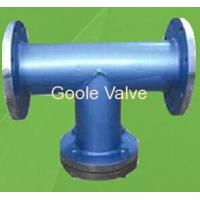 Buy cheap Flanged T type strainer from wholesalers