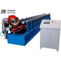 Buy cheap High Speed Downspout Roll Forming Machine PLC Control Half Round Gutter Machine from wholesalers