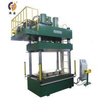 Buy cheap PLC Control Hot Hydraulic Press , 500T Industrial Hydraulic Press Machine product
