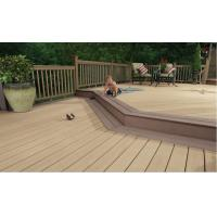 Buy cheap Waterproof WPC Deck Flooring With Wood Plstic Composite Material Long Life Time from wholesalers