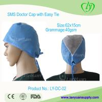 Buy cheap Disposable SPP Doctor Cap with Easy Ties from wholesalers