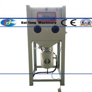 China Dust Collector Design Pressure Blasting Equipment ¢1000mm Turntable Diameter on sale