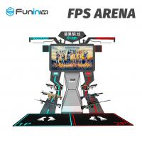 Buy cheap 2 Players Interactive Arcade Game Machine FPS Arena 9D Virtual Reality Cinema from wholesalers