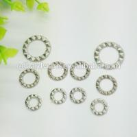 Wholesale Washable Brass Curtain Eyelet Grommets Customized Colour , Silver Plating Surface from china suppliers