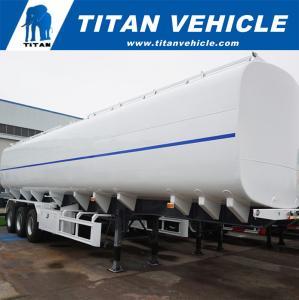 50000 Liters Liquid Gasoline Fuel Diesel Tank Truck Trailer for Sale | TITAN VEHICLE