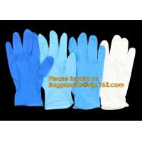 Buy cheap Disposable powder free black examination nitrile gloves manufacturers,Colored Nitrile Gloves Disposable Medical Blue Pow from wholesalers