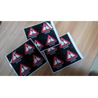 Buy cheap Custom Self Adhesive Paper Laminated Danger / Warning Sign Labels For Illegal Substances from wholesalers