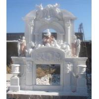Buy cheap Marble/Carved Stone/Limestone Fireplace from wholesalers