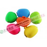 Buy cheap Red, Green, Yellow, Pink, Blue Silicone Coin Purse / Key Pouch for Gifts product
