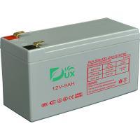 Buy cheap Dux Battery AGM battery 12V 9AH lead acid battery VRLA battery long life battery seal acid maintenance free battery from wholesalers