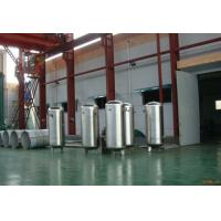 Stainless steel pressure vessel air compressor tank  / air receiver  4.5m³ Manufactures