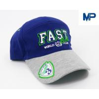 Buy cheap Plain Embroidery Cotton Customize Baseball Hats 6 Panel With Mesh Back from wholesalers