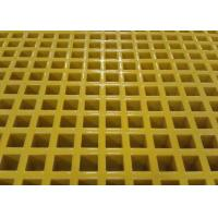 Buy cheap Custom Size Plastic Mesh Flooring , Corrosion Resistance Plastic Walkway Panels from wholesalers