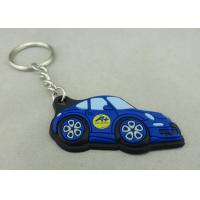 Quality Customized Colorful PVC Keychain , 3D Soft PVC Promotional Key Tag for sale
