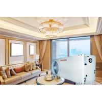 Buy cheap Efficient EVI Safe Air To Water Heat Pump Double Threaded Copper Tube Heat Exchanger from wholesalers