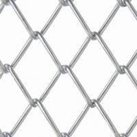 Buy cheap Cyclone Copper Chain Link Wire Mesh Fencing With Silver Diamond Metal Netting from wholesalers