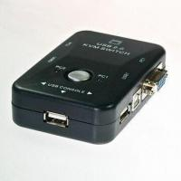Buy cheap USB Manual KVM Switches with Hot Key Function Allows Easy Access from wholesalers