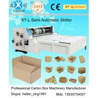 Buy cheap Paper Feeding Semi Automatic Die Cutting Machine 3KW 2200mm Of Slotting from wholesalers