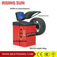 Buy cheap LCD display Car workshop used powerful wheel balancer for sale CE from wholesalers