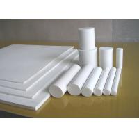 Buy cheap Moulded Or Skived PTFE Sheet , Anti Corrosion PTFE Plastic Sheet For Seal / Gasket from wholesalers