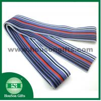 Buy cheap Customized sublimation printed elastic ribbon custom stripe elastic band for boxer from wholesalers