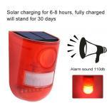 Buy cheap 6LED 110dB Loud Sound Flashy Strobe Lights Motion Sensor Security Alarm System,Solar Powered Led Motion Sensor Light from wholesalers