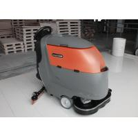 Buy cheap One Key Control Industrial Floor Scrubbing Machines With 2x 13Inch Brush from wholesalers