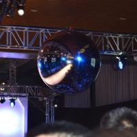 Buy cheap Festivals Inflatable Event Mirror Ball With Sliver Color , Inflatable Mirrored Sphere from wholesalers