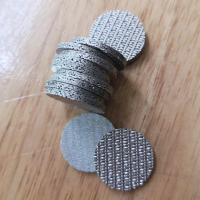 Buy cheap Perforated Metal Sintered Wire Mesh 5cm-100cm Width Good Permeability from wholesalers