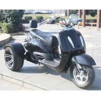 China 1000w Electric Moped Bike , 3 Wheel Scooter Motorcycles With Brushless Motor on sale