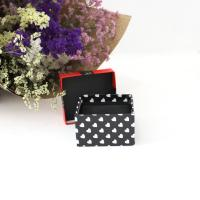 Wholesale Red Lid With Bow-Tie Eco Friendly Jewelry Packaging Black Pillow Inner And Base from china suppliers