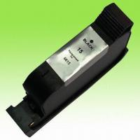 Buy cheap Remanufactured Black Ink Cartridge, Compatible with HP15 C6615A from wholesalers