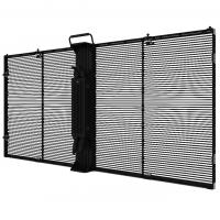 Buy cheap Advanced LED Glass  Curtain Display Flexible Modern Modularization Design  RGB Full Color from wholesalers