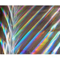 Buy cheap printable seamless rainbow pattern PET holographic lamination film with primer coating from wholesalers