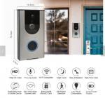 Buy cheap Smart wireless doorbell,Home Doorbell doorbell smart two-way intercom waterproof doorbell with rain cover from wholesalers