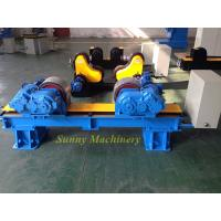 Buy cheap High Frequency Pipe Turning Rollers , Pipe Rotators For Welding Hgk - 20 VFD Control from wholesalers