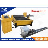 Buy cheap Metal Cutting Table Top Plasma Cutter 200A Hypertherm Power CE Standard from wholesalers