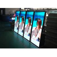 China IP65 LED Poster Pixel 6.0mm Exterior / Waterproof LED Sign Display on sale