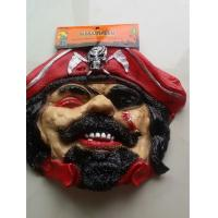 Red One Eyed Pirate Halloween Costumes Mask Cosplay Ghost Mask Horror Ghost Halloween Mask Manufactures