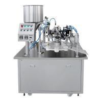 Buy cheap Customizable Hand Cream Tube Filling And Sealing Machine , Cosmetic Tube Sealing Machine from wholesalers