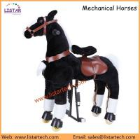 Buy cheap Mechanical Horse Toys Walking Toy, Ride on Animal, Giddy Up Go Pony Ride on Horse-Zebra from wholesalers