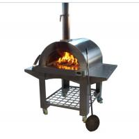 Buy cheap Cooking Tools Wood Fired Pizza Oven Charcoal Pizza Oven High-Quality Outdoor Stainless Steel Wood Fired Oven for Pizza from wholesalers