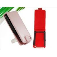 Wholesale Customized Pink / Red Artificial Leather Cell Phone Cases For Grils / Women from china suppliers