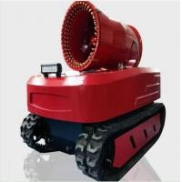 Protective Fire Fighting Equipment Remote Control Fire Smoke Detection Robot Manufactures