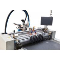 Buy cheap Paper Automatic Rigid Box Making Machine , Cardboard Box Maker Wear Resistant from wholesalers