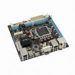Buy cheap Mini-ITX Motherboard, Supports Core i7, i5,i3 LGA1155 USB3.0 Integrated HDMI, DVI, VGA Dual LAN from wholesalers