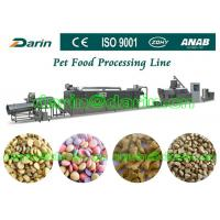 Buy cheap Automatic Pet Food Extruder Machine for dog , cat , fish from wholesalers